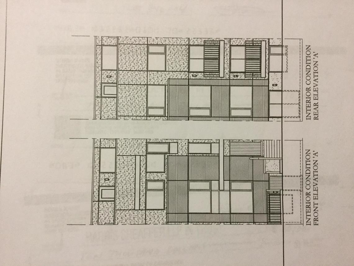 Prelist stacked townhouse for Stacked townhouse floor plans