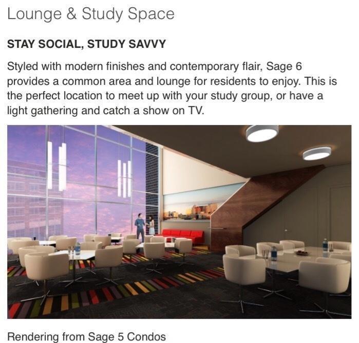 Prelist - Sage 6 University of Waterloo Condo 2 BD + 2 Bath (FOR